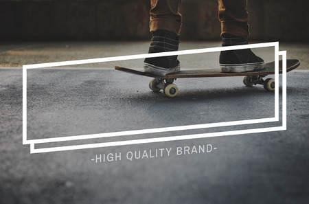high quality: High Quality Brand Luxury Elegance Level Concept Stock Photo
