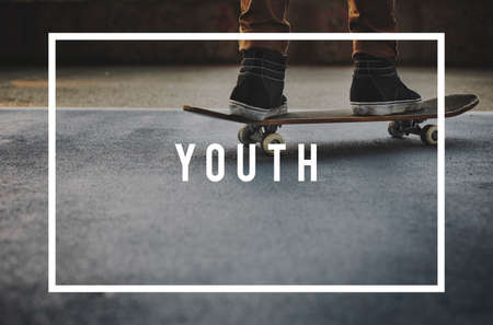 boyhood: Youth Culture Young Childhood Teenagers Generation Concept