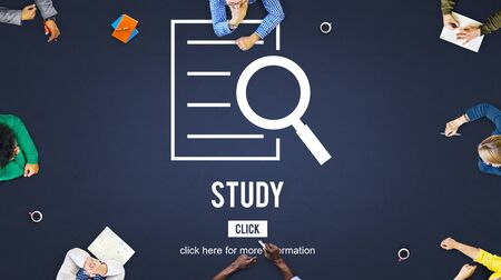 observation: Study Results Analysis Discovery Investigation Concept Stock Photo