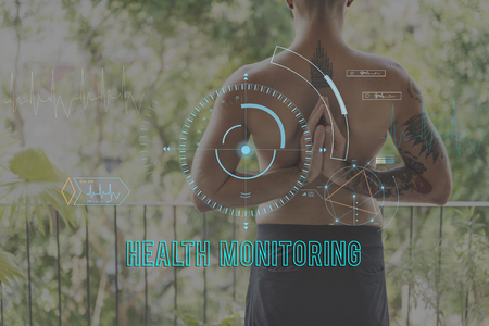tracking: Health Fitness Healthcare Tracking Technology Concept