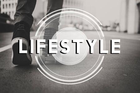 life change: Skater Life Change Active Leisure Concept