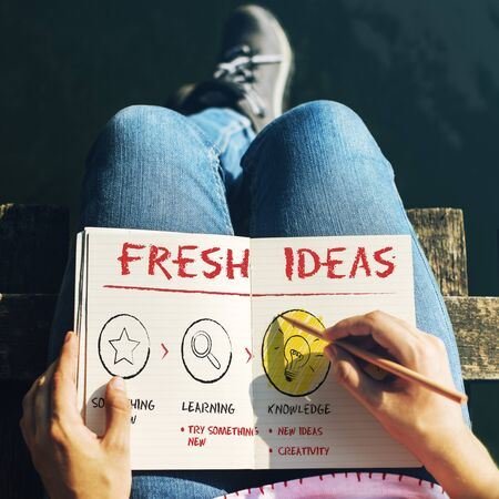 envision: Create Imagination Innovation Inspiration Ideas Concept