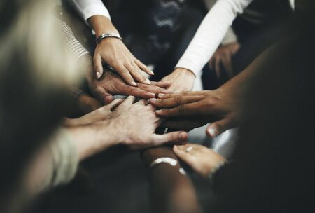 join hands: Teamwork Join Hands Support Together Concept