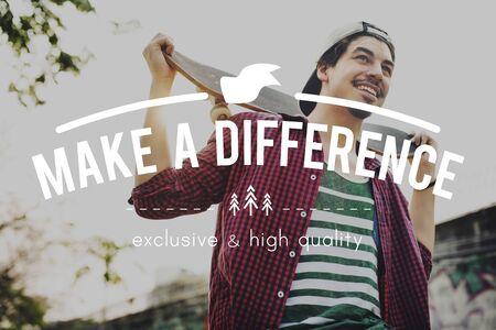 Change Difference Success Development Motivation Concept