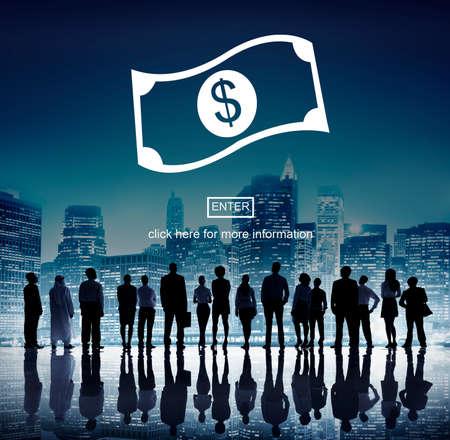 Cash Flow Business Money Financial Concept Stock Photo