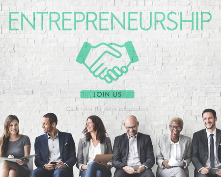Entrepreneurship Corporate Enterprise Dealer Concept Banco de Imagens - 60613108