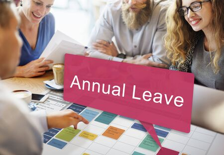 free time: Annual Leave Vacation Free Time Holiday Concept