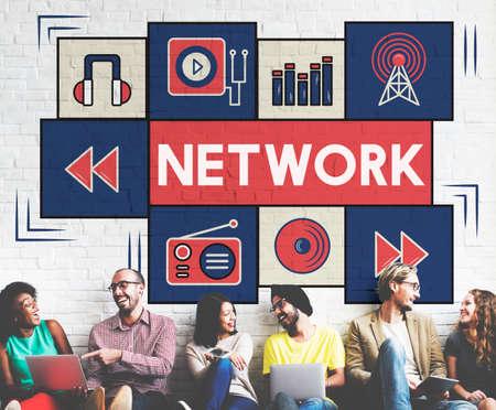 diversity domain: Network Internet Matrix Connection Domain Concept