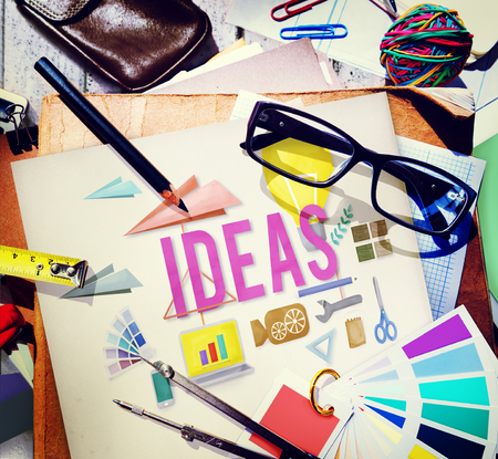 Estrategia de las ideas tácticas Propuesta de sugerencias Concept Foto de archivo