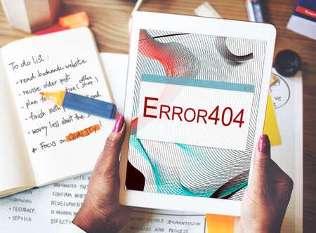 halted: Error Halted System Disconnect Caution Concept