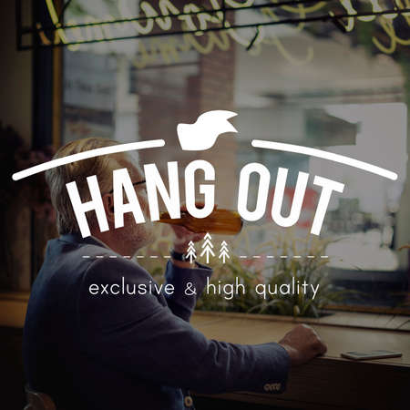 hang out: Hang Out Go Out Leisure Activity Enjoyment Concept