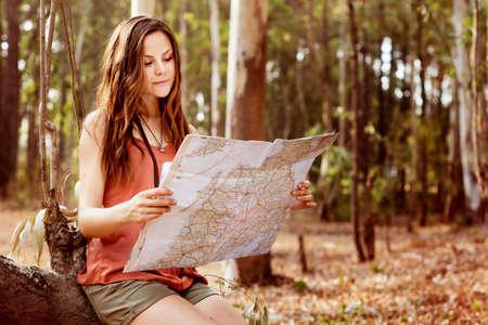 Itinerario di navigazione di avventura Navigazione di rotta Archivio Fotografico