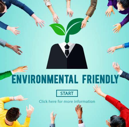 recursos naturales: Environmental Friendly Go Green Natural Resources Concept
