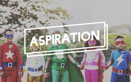 Aspirations Motivation Inspiration Aspire Concept Stock Photo