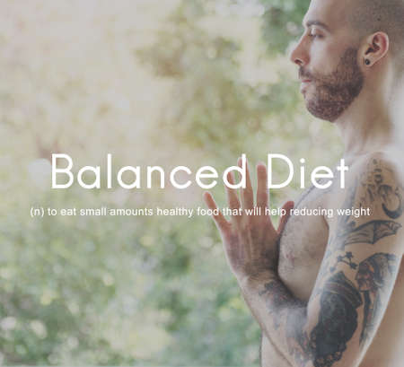 balanced: Balanced Diet Choice Eating Healthy Nutrition Concept