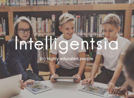 literate: Intelligentsia Highly Educated Literate Knowledge Concept