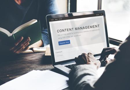 Content Management System Strategie Webconcept