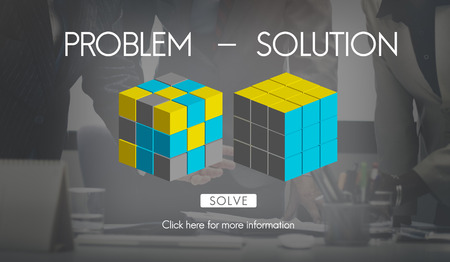 drawback: Problem Solution Decision Solving Strategy Ideas Concept
