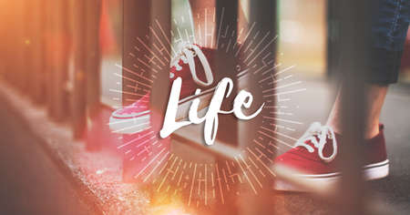 the way forward: Live Your Life the Way Forward Motivation Aspirations Concept
