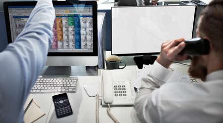 copyspace: Mockup Copyspace Computer Notebook Laptop Concept Stock Photo