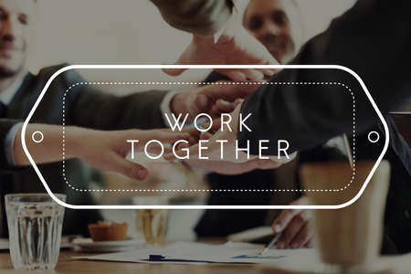 Work Together Alliance Team Association Unity Concept