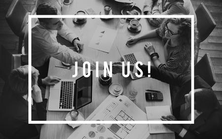 회사 등록 회원 모집 인적 자원 개념에 참여