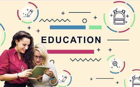 adult learners: Educación y Aprendizaje de Estudiantes Desarrollo Concepto Gráfico