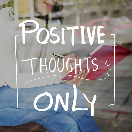 freedom of thought: Lifestyle Positive Thoughts Mind Life Concept