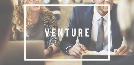 Venture Entrepreneur Funding Investing Money Concept Reklamní fotografie