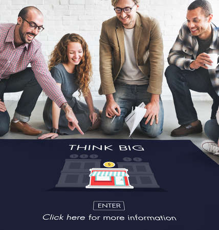 opportunity: Think Big Investment Opportunity Business Concept