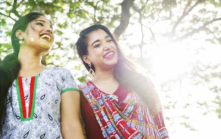 indian ethnicity: Indian Ethnicity Friendship Togetherness Concept