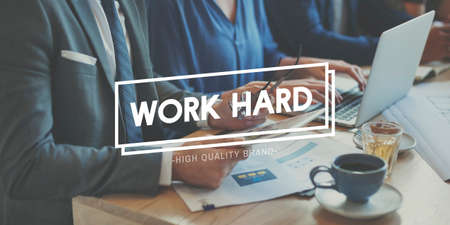 overload: Work Hard Business Overload Effectiveness Concept Stock Photo