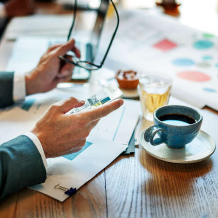 executive search: Business People Meeting Discussion Corporate Concept Stock Photo