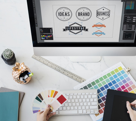 mousepad: Designer Interior Working Workspace Concept