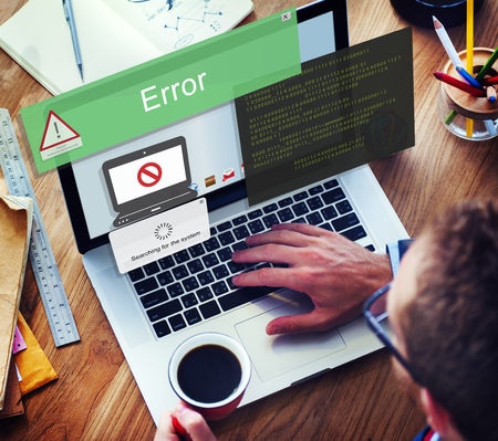 Error Disconnect Caution Inaccesible AbEnd Concept