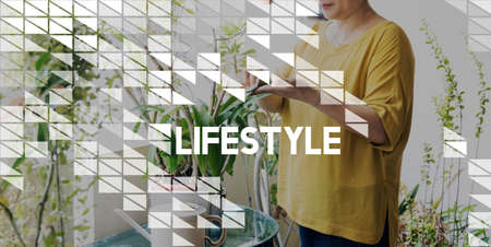 labelling: Lifestyle Life Hobby Actions Goals Concept Stock Photo