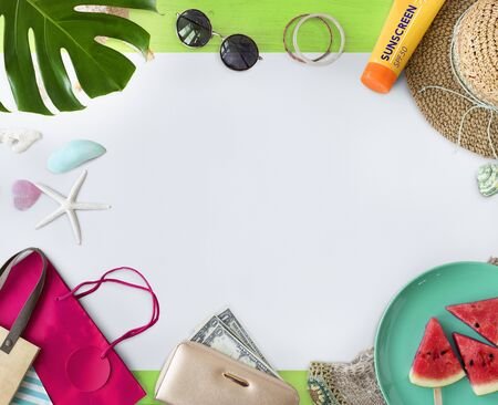 Summer Vacation Holiday Nature Concept Stock Photo