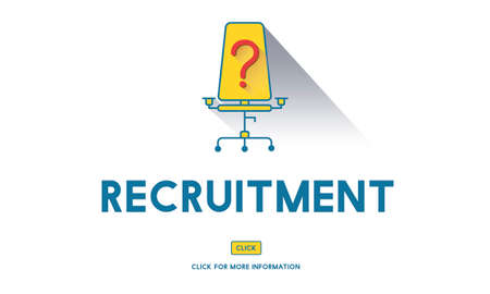 were: Job Search Occupation Recruitment Were Hiring Concept Stock Photo