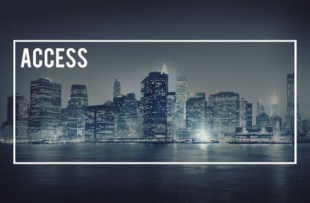 availability: Access Obtainable Unlock Availability Approachable Concept