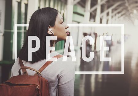 independance: Peace Calm Freedom Quiet Solitude Independance Concept