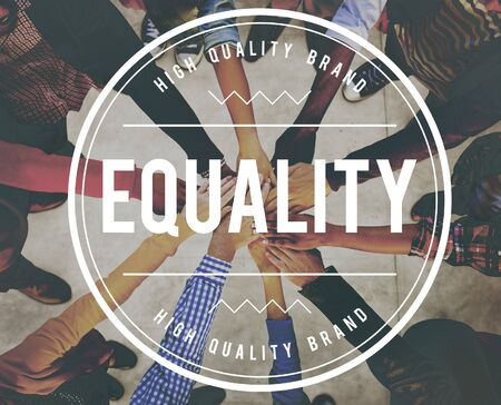 fairness: Equality Uniformity Fairness Rights Justice Concept