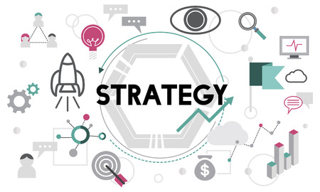 tactic: Strategy Tactics Vision Solution Process Concept Stock Photo