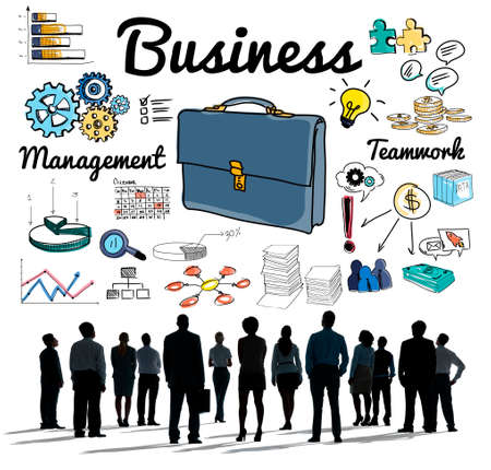 aspirations: Business Group People Vision Aspirations Concept Stock Photo