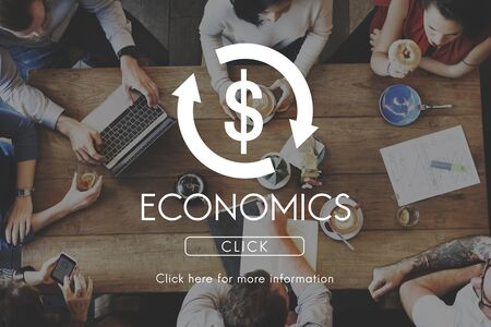 business cycle: Economics Business Cycle Financial Concept