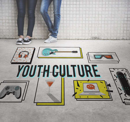 youth culture: Youth Culture Free Yolo Trendy Teenage Concept