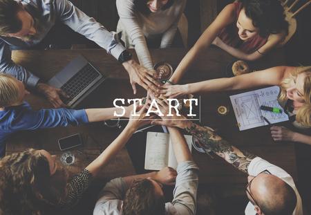 activation: Start Up Business Idea Beginning Concept Stock Photo