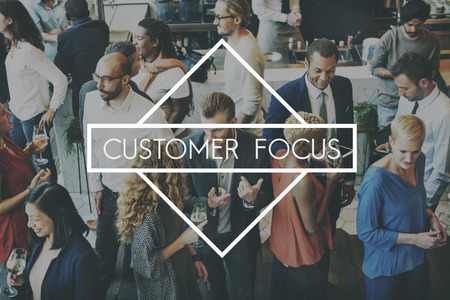Customer Focus Satisfacion Services Happy Good Concept