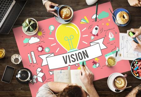 sense of sight: Vision Ideas Inspiration Imagination Creation Concept