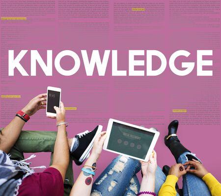 perceptive: knowledge Education Intelligence Insight Wisdom Concept