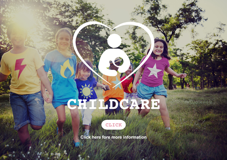 child care: Child Care Maternity Mother Family Concept